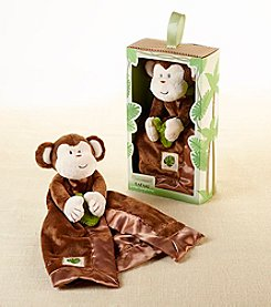 Baby Aspen Plush Monkey Rattle Lovie