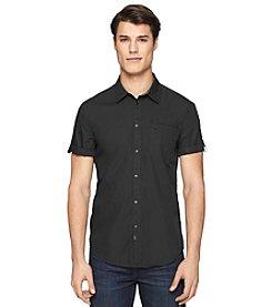 Calvin Klein Jeans® Men's Short Sleeve Pigment Dye Utility Woven