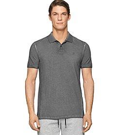 Calvin Klein Jeans Men's Short Sleeve Pigment Dye Polo