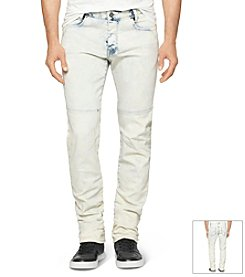 Calvin Klein Jeans® Men's Wipe Out Wash Slim Denim Jeans
