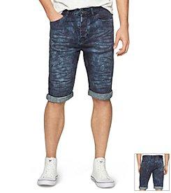 Calvin Klein Jeans® Men's Oil Slick Denim Shorts