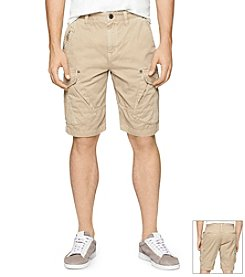 Calvin Klein Jeans® Men's Mixed Media Cargo Shorts