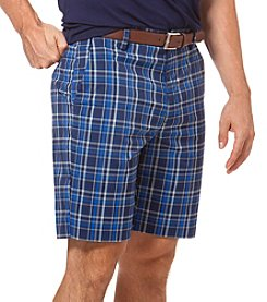 Chaps® Men's Gordon Plaid Flat Front Golf Short