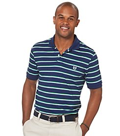Chaps® Men's Short Sleeve Marketplace Stripe Pique Polo