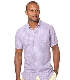 Chaps® Men's Short Sleeve Windfall Plaid Woven