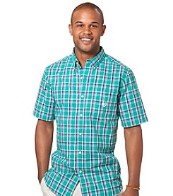 Chaps® Men's Short Sleeve Rivington Plaid Woven