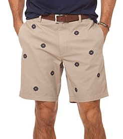 Chaps® Men's Embroidered Twill Short