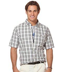 Chaps® Men's Short Sleeve Durand Plaid Woven