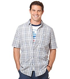 Chaps® Men's Short Sleeve Maplewood Plaid Woven