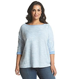 Columbia Plus Size Coastal Escape™ 3/4 Sleeve Shirt