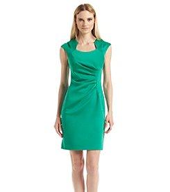 Calvin Klein Ruched Sheath Dress