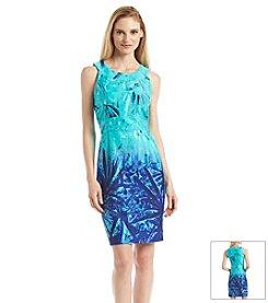 Spense® Floral Ombre Dress