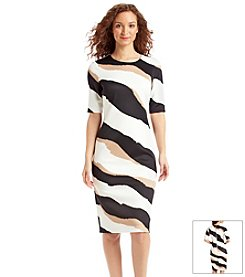 Vince Camuto® Striped Sheath Dress