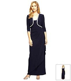 Alex Evenings® Ruched Bolero Jacket Dress