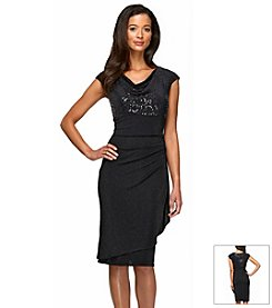 Alex Evenings® Drape Sheath Dress