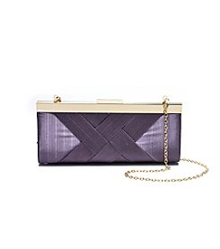 La Regale® Basketweave Clutch