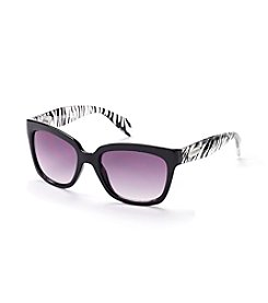Steve Madden Glam Animal Print Sunglasses
