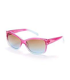 Steve Madden Ombre Stud Sunglasses
