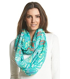 Collection 18 Butterfly Wing Infinity Loop Scarf