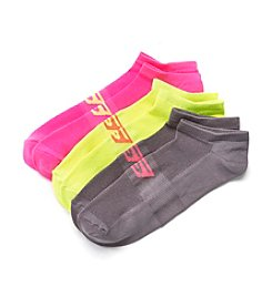 Skechers® 3 Pack Performance No Show Socks