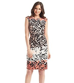 Madison Leigh Ombre Floral Vine Dress