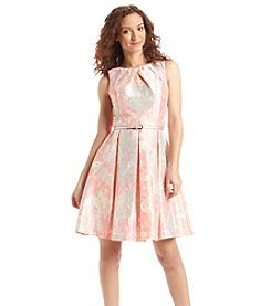 Jessica Howard® Floral Belted Dress