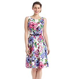 Kasper® Floral Fit And Flare Dress
