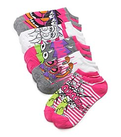 High Point 5 Pack Muppets No Show Socks