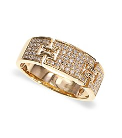 Effy® 0.27 ct. t.w. Diamond Ring in 14K Yellow Gold