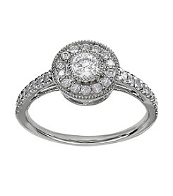 .50 ct. t.w. Diamond Ring in 10K White Gold