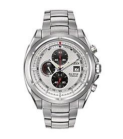 Citizen® Men's Eco-Drive Super Titanium Chronograph Watch