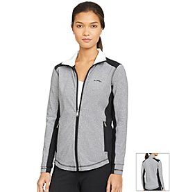 Lauren Active® Petites' Full-Zip Mockneck Jacket