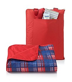 LivingQuarters Americana All Weather Throw