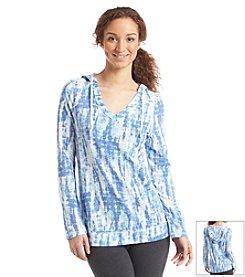 Exertek® Long Sleeve Tie Dye Hoodie Tunic