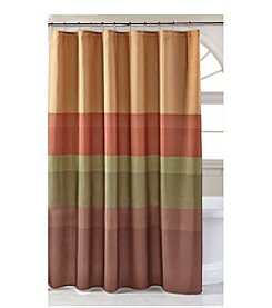 Bacova® Textured Layers Spice Shower Curtain