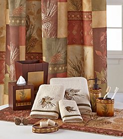 Bacova® Pinecone Silhouette Bath Collection