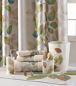 Bacova® Waterfall Leaves Bath Collection