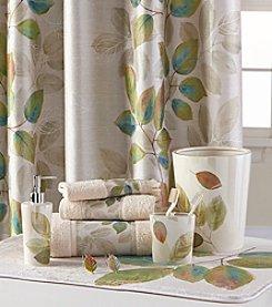 Bacova® Waterfall Leaves Bath Collection