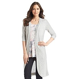 Relativity® 3/4 Sleeve Duster Cardigan