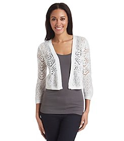 Jeanne Pierre® Open Front Shrug