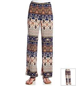 AGB® Printed Knit Pant