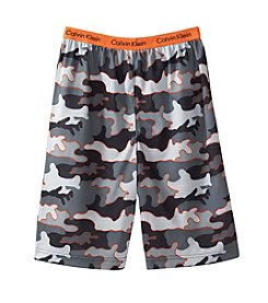 Calvin Klein Boys' 5-16 Camo Jam Shorts