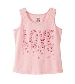 Calvin Klein Girls' 5-16 Love Logo Tank