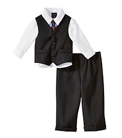 Nautica® Baby Boys' Striped Vest Outfit Set