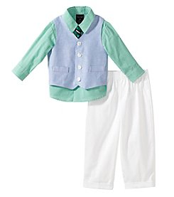 Nautica® Baby Boys' Oxford Vest Outfit Set