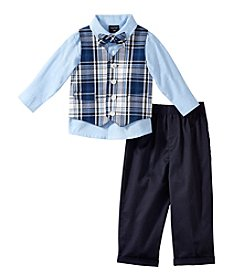 Nautica® Baby Boys' Plaid Vest Outfit Set