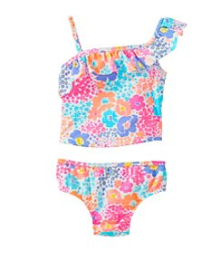 Carter's® Baby Girls' 2-Piece Floral Shoulder Swim Suit