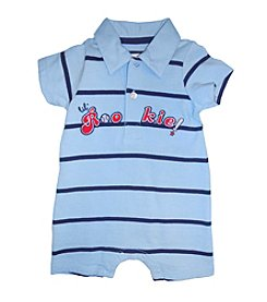 Vitamins Baby® Baby Boys' Striped Rookie Romper