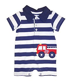 Vitamins Baby® Baby Boys' Fire Truck Romper