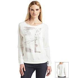 Calvin Klein Jeans Long Sleeve Pullover Sweatshirt